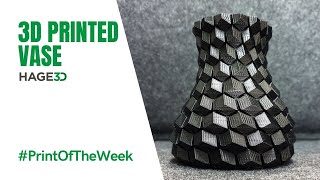 3d printed vase - HAGE3D Print Of The Week KW45