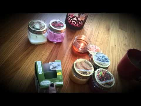 Dollar Tree Candle Reviews & Candle empties