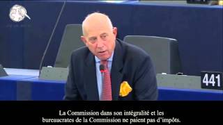 GODFREY BLOOM at the European Parliament / au Parlement Européenne