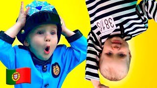 Se você está feliz - Crianças rimam e canções Musica Infantil Five Kids