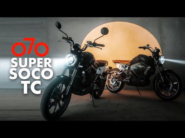 Super Soco TC - Retro Electric Moto