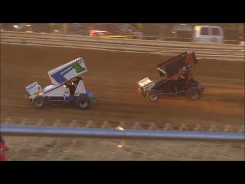 Ohio Valley Sprint Car Association Heat #1 from Jackson County Speedway, July 6th, 2018.