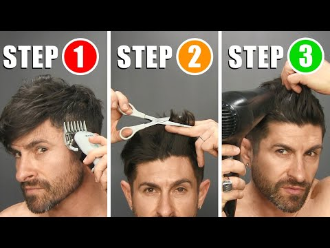 QUICK & EASY HOME HAIRCUT TUTORIAL & TIPS (How To Cut Your Own Hair)