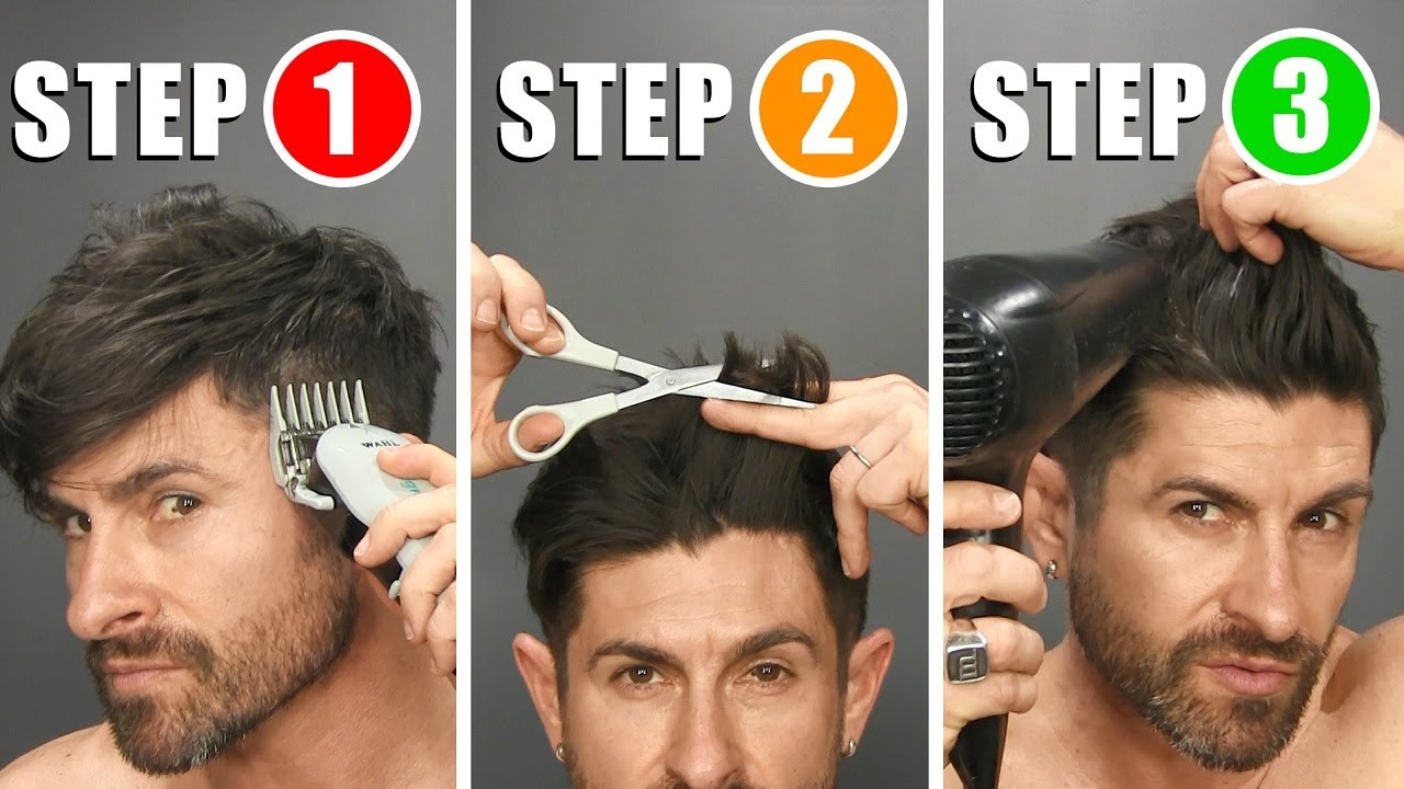 QUICK & EASY HOME HAIRCUT TUTORIAL & TIPS (How to Cut Your Own ...