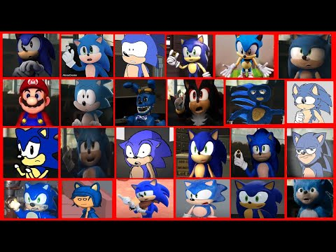 Sonic The Hedgehog Movie - Uh Meow All Designs Compilation 6