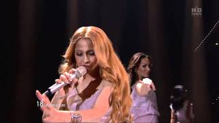 Eldar & Nigar - Eurovision 2011, Azerbaijan - Running Scared - First Semi-Final live(Azerbaijani duo Eldar & Nigar had performed their entry song Running Scared during live broadcast of Eurovision Song Contest 2011 in Dusseldorf, Germany, ..., 2011-05-12T18:38:10.000Z)