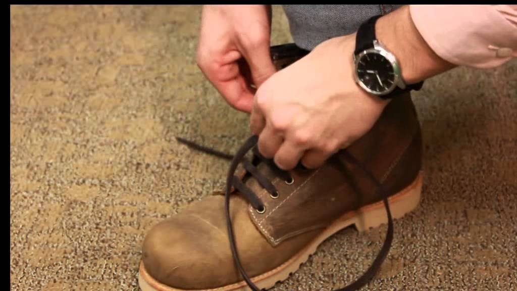 How To Bar Lace Your Boots