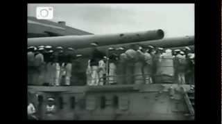 Deutsches Panzerschiff Graf Spee, Originalaufnahmen Doku Gefecht Montevideo Gemälde