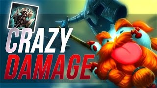 Nightblue3 - NEW 5000+ HP OLAF JUNGLE BUILD CRAZY DAMAGE