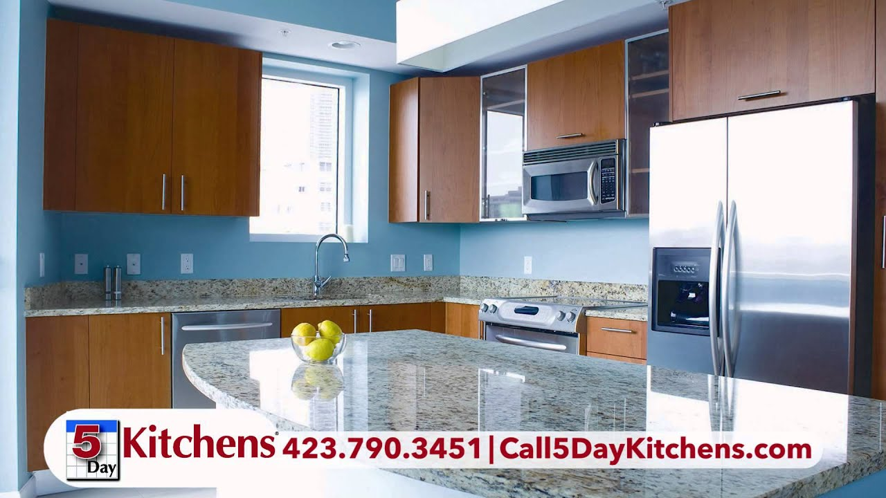 5 Day Kitchens of Chattanooga - Now, we do kitchens too! - YouTube
