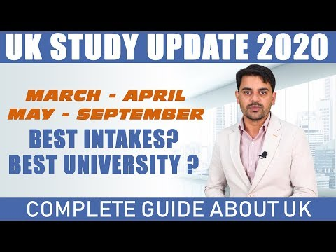 Study In UK 2020 | All INTAKES | International Students Visa | Study Abroad | Updates, Requirements