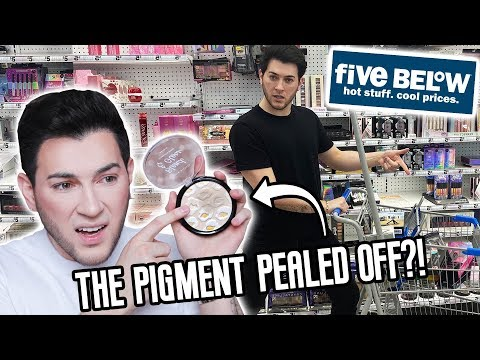 I BOUGHT EVERY PIECE OF MAKEUP FROM 5 BELOW... HELP