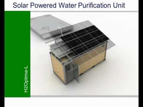 H2Optima-L Solar Powered Water Purification Unit