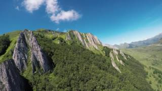Vol dans le Val d'Azun avec le CERPP