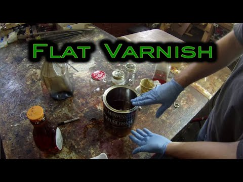 FLAT Varnish -- Easy DIY Finishing Tip