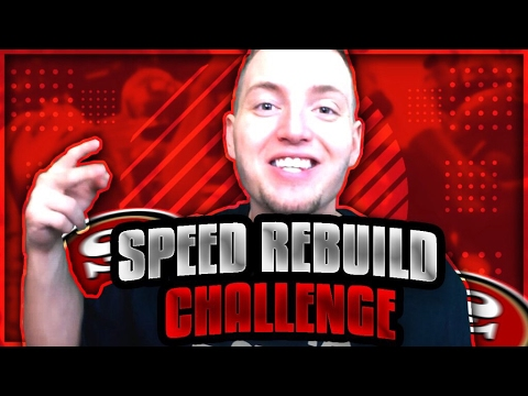 SPEED REBUILD SAN FRANCISCO 49ERS EDITION vs. SAVAGE! MADDEN 17 CHALLENGE