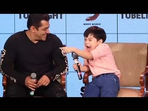 Thumbnail: Salman Khan's Funny Moments With Matin Rey Tangu - Tubelight Ki Night