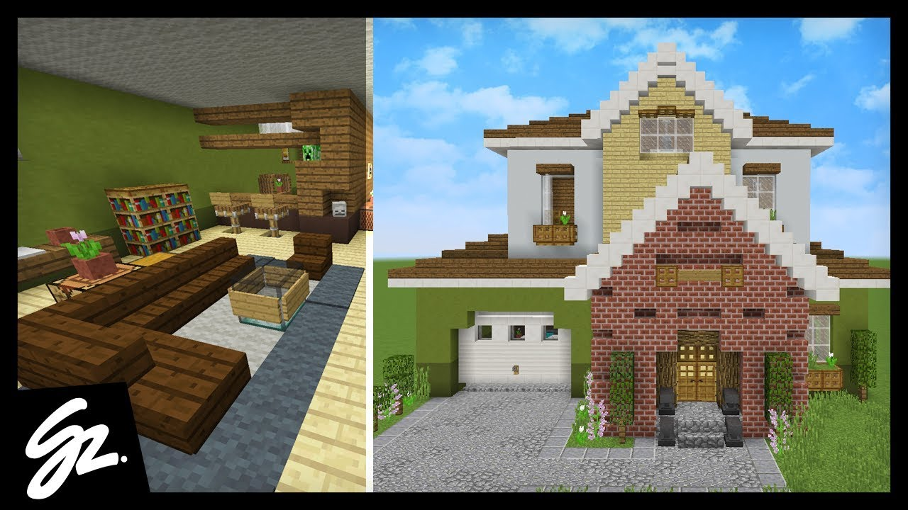 minecraft house ideas inside and outside