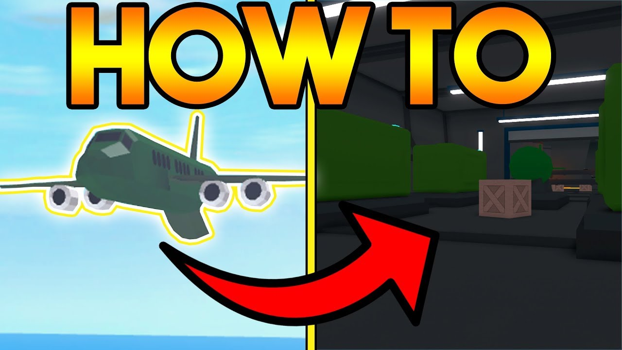 How To Rob The New Cargo Plane Heist In Mad City New Update