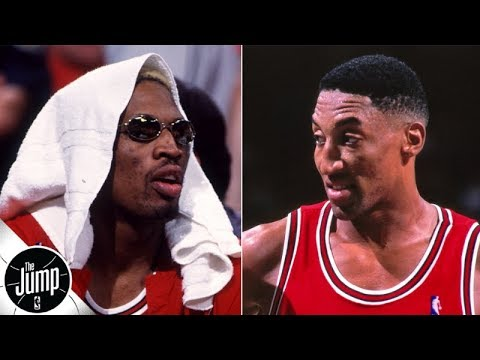 Scottie Pippen didn't want Dennis Rodman on the Bulls at first | The Jump