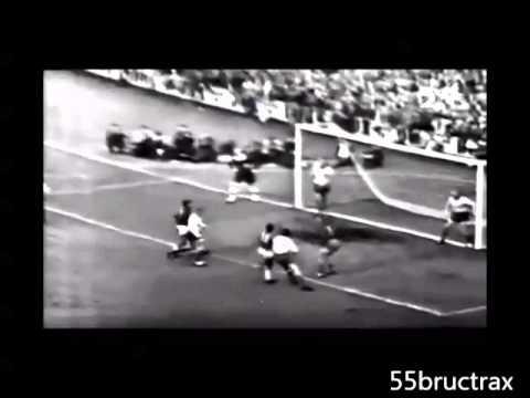 1958 Pelé vs Sweden  WORLD CUP FINAL