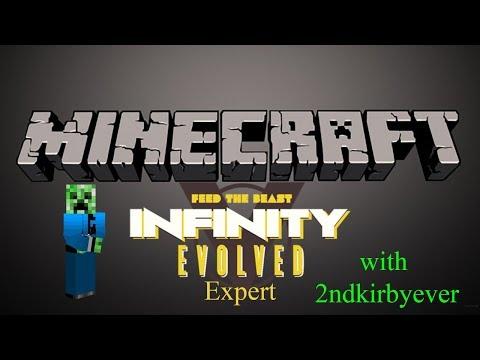 "FTB Infinity Expert Solo - E27 ""Beginning Logistics"""