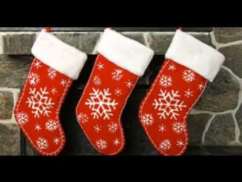DIY Homemade christmas stocking decorating ideas - YouTube