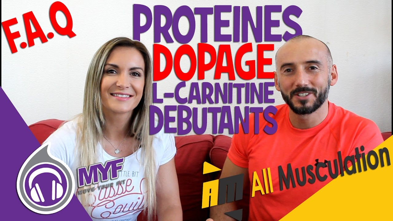 PROTEINES - L CARNITINE - DOPAGE - DEBUTANTS - Ft. All