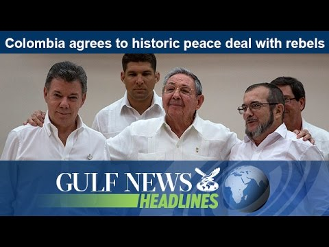 Colombia agrees to historic peace deal with rebels - GN Headlines