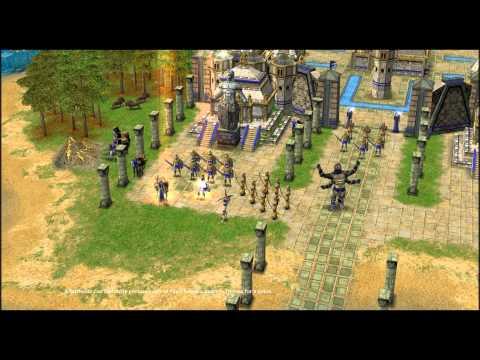 Age of Mythology Titans - Atlantean Tutorial Cinematic