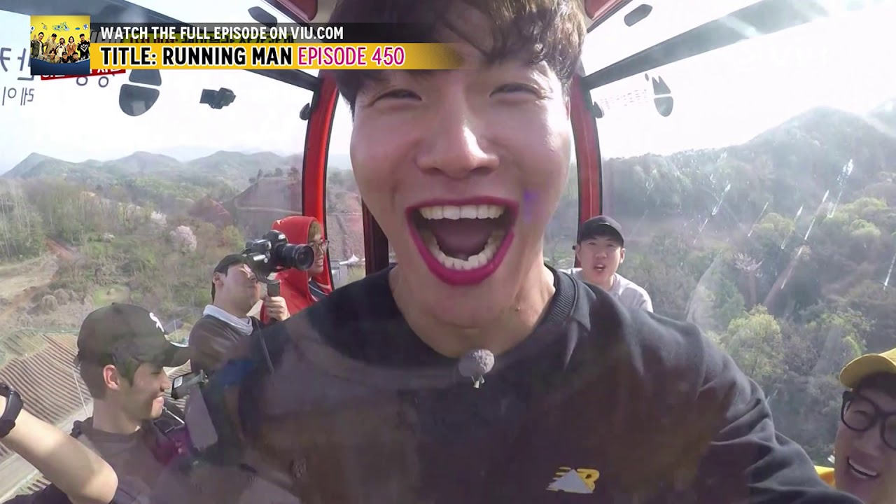 The Kissing Challenge (Running Man EP 450 w/ Eng Subs)