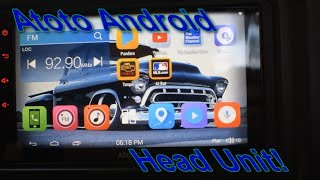 """ATOTO 7""""HD Touchscreen Android Car Stereo - M4272"""
