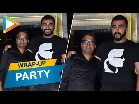 Arjun Kapoor at the WRAP-UP party of the film INDIA'S MOST WANTED