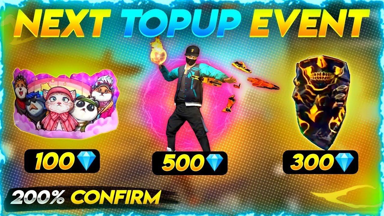 Next topup event free fire   New topup event free fire   Next Topup Event   Upcoming Topup Event