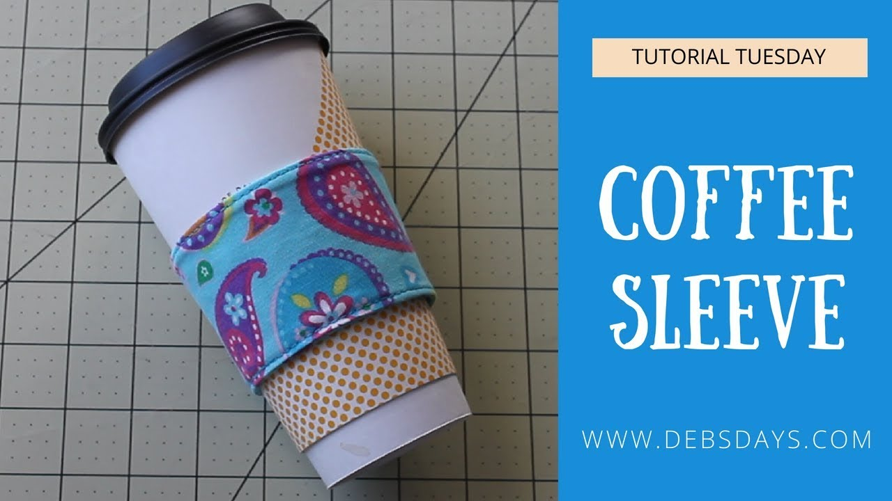 Quick And Easy Diy Coffee Sleeve Cozy