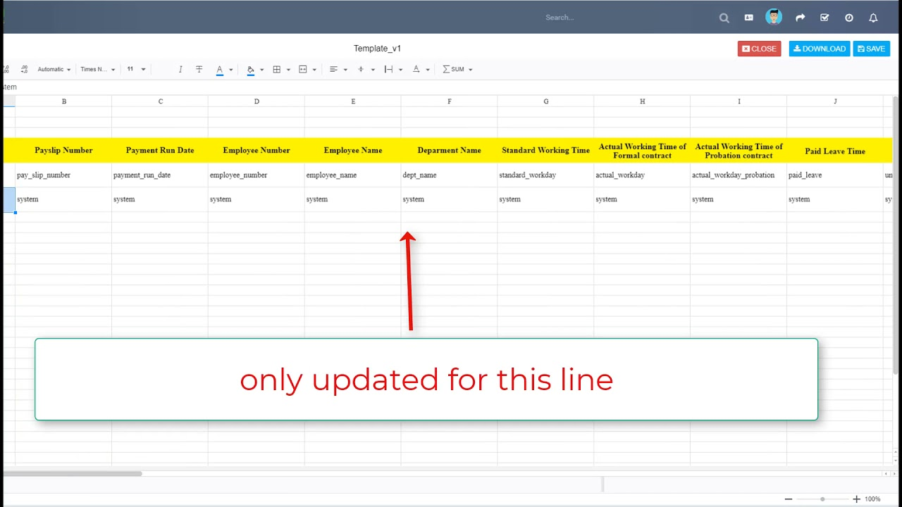 19. Perfex CRM Modules - HR Payroll - Add Payslip template Null