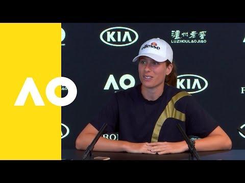 Johanna Konta pre event press conference   Australian Open 2019