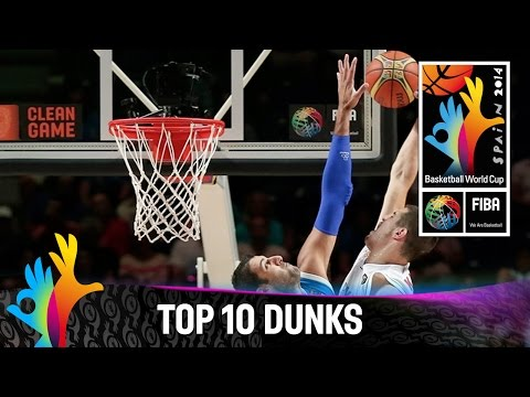 Top 10 Dunks - 2014 FIBA Basketball World Cup