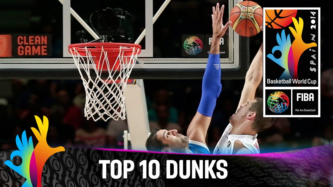 Top 10 Dunks - 2014 FIBA Basketball World Cup