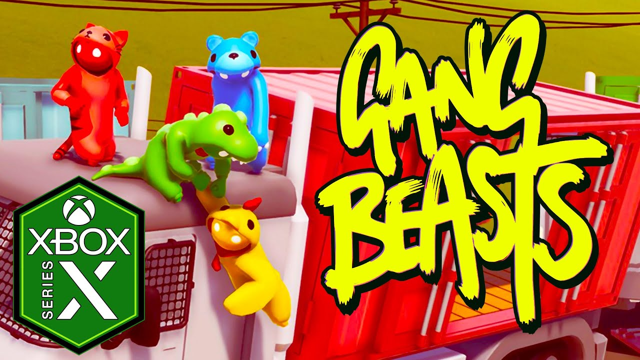 Gang Beasts Xbox Series X Gameplay Review [Xbox Game Pass]