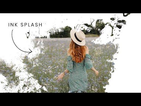 CSS Only Ink Splash Video Manipulation   CSS Effect