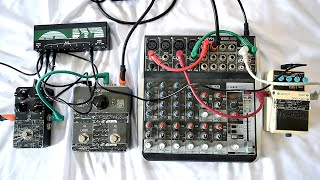 Live Looping : No Input Mixer & Effect Pedals
