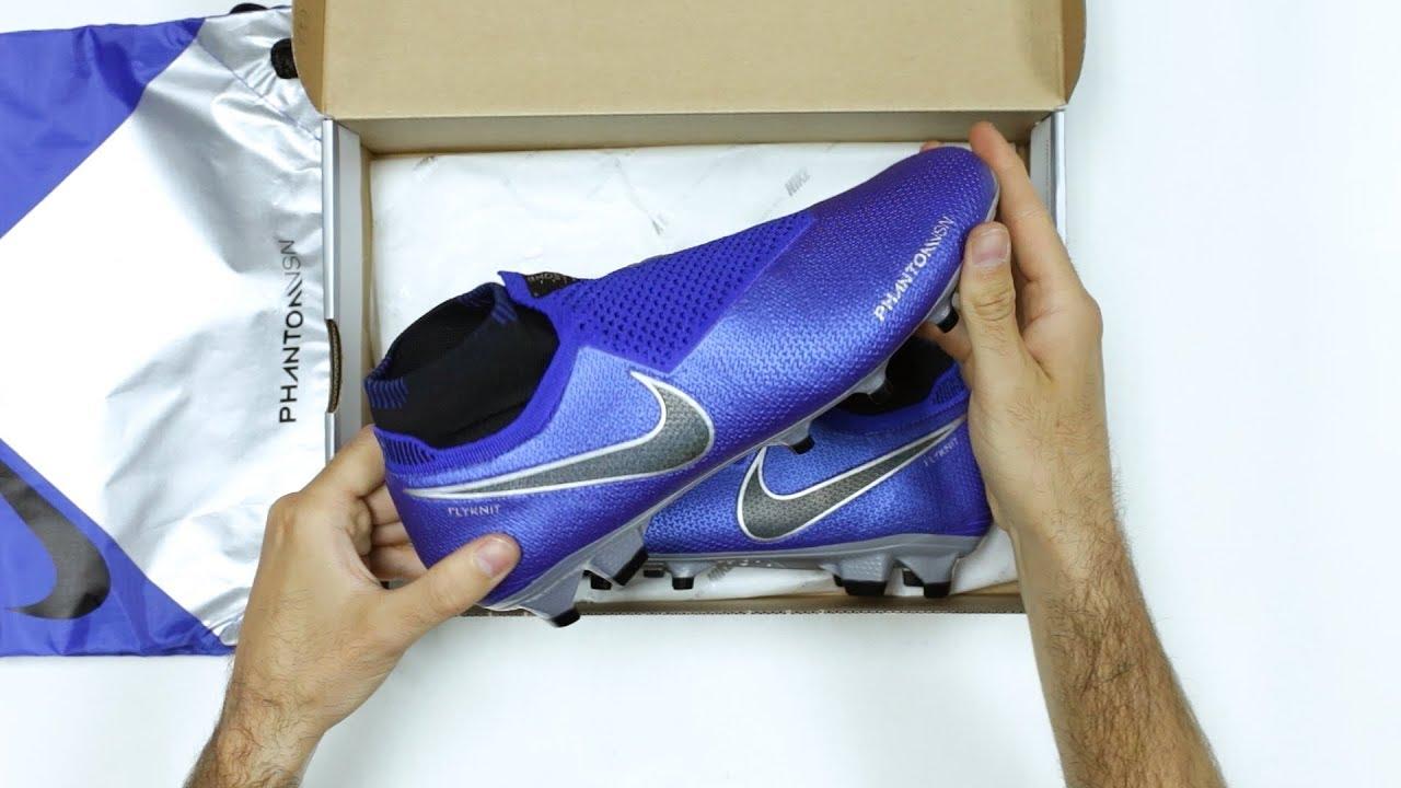 UNBOXING  Botas de fútbol Nike Phantom VSN - Always Forward   Las botas de  Coutinho y De Bruyne 8535b68f1a114