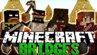 NEW MAP Minecraft BRIDGES w/ CaptainSparklez, BajanCanadian, and xRPMx13