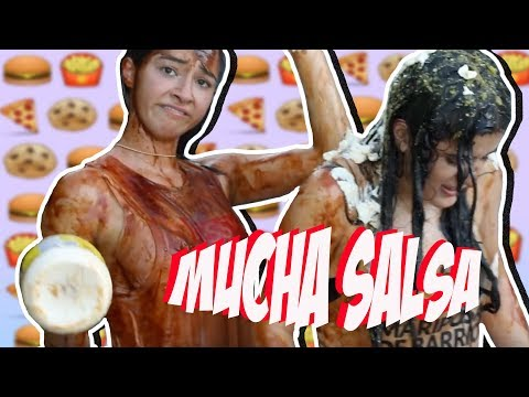 THAT'S TOO MUCH SAUCE CHALLENGE (mucha salsa challenge)FT. SAMY BFF / Anto Russoniello