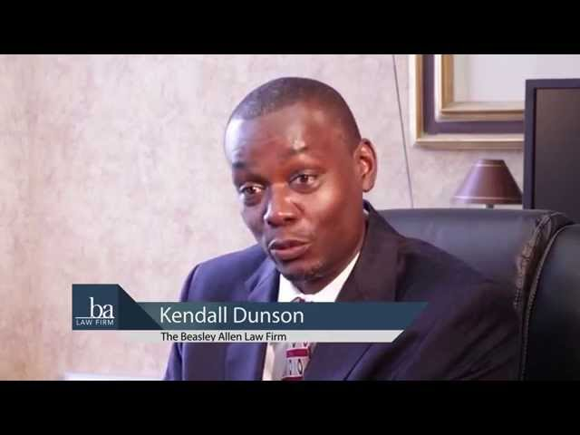 Kendall Dunson talks about Beasley Allen Law Firm's mission