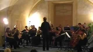 """Pasquale Anfossi: dalla Sinfonia """"Venezia"""" Andante - Allegro Concerto inaugurale dell"""