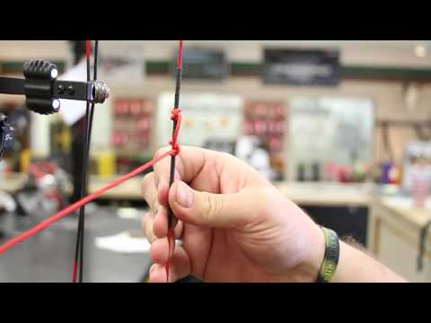 Field & Stream's Bow Setup Series - Set, Tie, and Secure Your String Loop - Segment 4