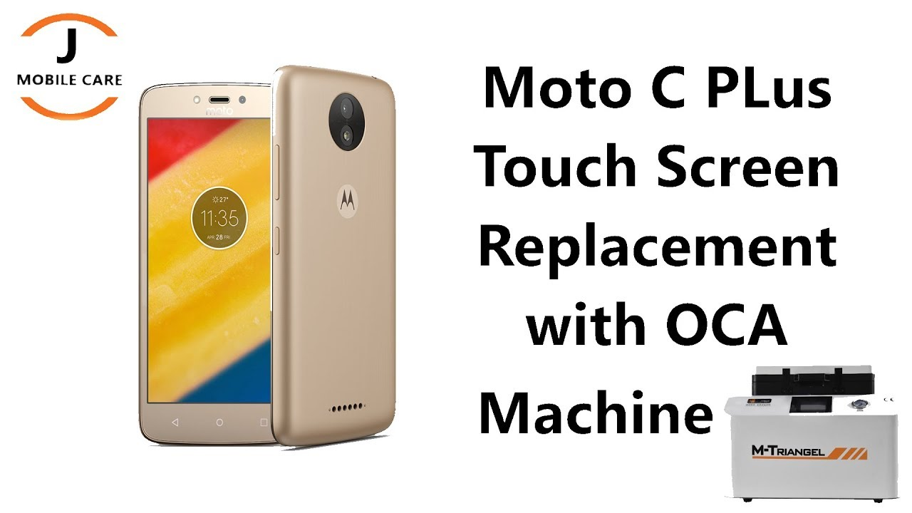 Moto C Plus Touch Screen Replacement | Moto c plus Screen Repair