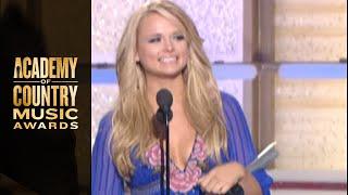 Miranda Lambert Wins New Female Vocalist - ACM Awards 2007